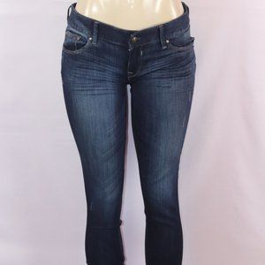 Express Jeans - EXPRESS STELLA DARK ANKLE REGULAR LOW RISE JEAN 4